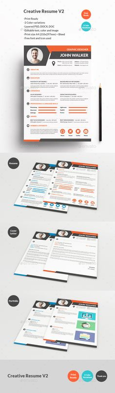 25 Creative Resume Templates To Land a New Job in Style Grow - advertising resume templates