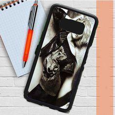Scarlett Johansson Black White Samsung Galaxy S8 Plus Case Casefreed