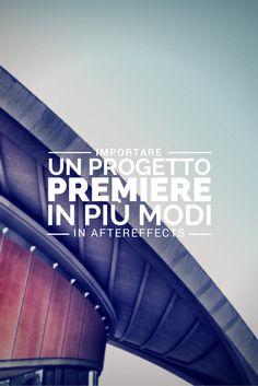 Stavolta Carlo Machiavello ci dimostra tutti i modi per importare un progetto Premiere in AfterEffects. Clicca qui per iscriverti subito al corso Adobe After Effects da noi: http://www.espero.it/corsi-adobe/after-effects-pronti-via?utm_source=pinterest&utm_medium=pin&utm_campaign=videovanguards