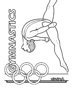 44 Popular Gymnastics Coloring Pages images in 2019