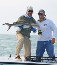 Sight Fishing Cobia...  The cobia run has started along Florida's East Coast.  Editor John Frazier got out for a quick trip near Port Canaveral.