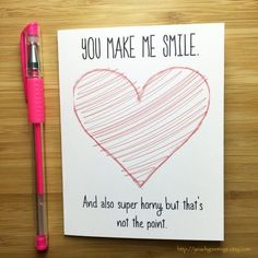 Naughty Love Card Sexy Card for Boyfriend by YeaOhGreetings #boyfriendgifts