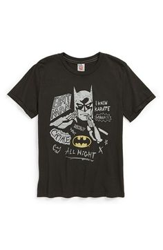 Junk Food 'Batman Fighting Crime' T-Shirt (Little Boys & Big Boys) available at #Nordstrom