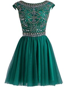 XFCastle Beaded Cap Sleeves Emerald Short Homecoming Dres... https://www.amazon.com/dp/B01IK78894/ref=cm_sw_r_pi_dp_cqdJxb7BR3VA0