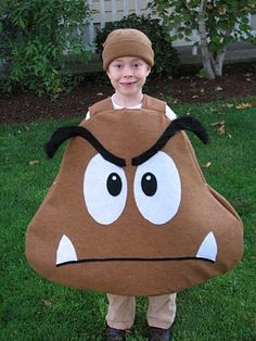 Taylor just informed me he wants to be a Goomba for Halloween.