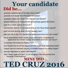 453 best Ted Cruz images on Pinterest | 2016 election, Presidential ...