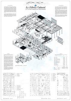 """Primer premio ex-aequo. """"La Fábrica Cultural: un centro comercial de prosumidores"""" por Pedro Pitarch Alonso. Imagen cortesía de COAM."""