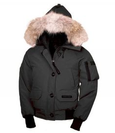 Canada Goose Chilliwack Parka Womens Black CG60002