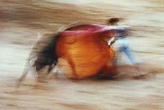 Ernst Haas - Bullfight, Pamplona, Spain, 1956