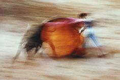 Ernst Haas - Bullfight, Pamplona, Spain, 1956