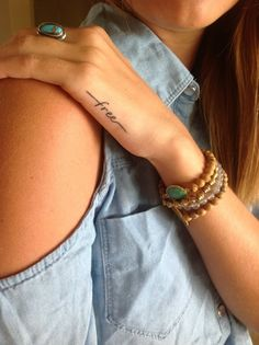 Tattoo Quotes On Woman Body