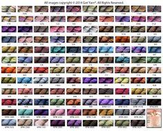 Got Yarn: Koigu Merino yarn colors