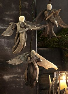 Driftwood angels