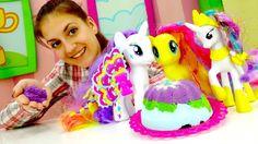 Детские игры для девочек: Литл пони Селестия и праздничный стол. Игра го...