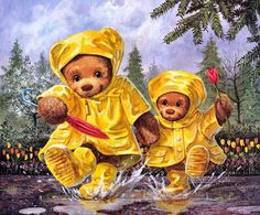 Pinzellades al món: Animals sota la pluja / Animales sobre la lluvia / Animals on the rain