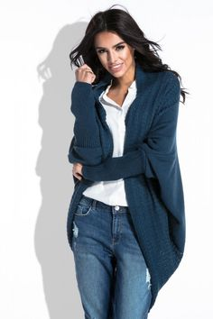 Cardigan asimetric dama primavara Cardigan Outfits, Bell Bottoms, Bell Bottom Jeans, Fall Winter, Elegant, Sweaters, Style, Favorite Things, Fashion
