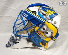 minion Hockey | Noora Raty Inspired Against Men by Minion Mask - The Goalie Magazine ...