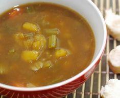 Sopa de Mandioquinha com Cenoura