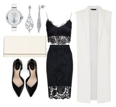 """""""Untitled #43"""" by chuppy92 on Polyvore featuring Quiz, NLY Trend, Zara, BERRICLE, Valextra and Movado"""