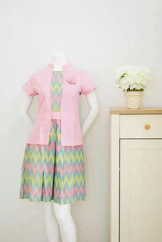 Pink Rang-rang Tenun Fabrics