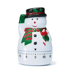 """Snowman Kitchen Timer 