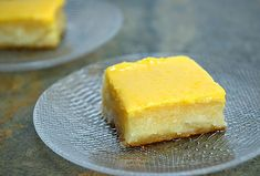 Cassava Cake with Custard Topping is a Filipino dessert made with grated cassava and coconut milk