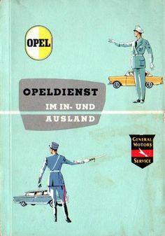 Opel Kundendienst - Kapitän - Olympia Rekord - Kadett A