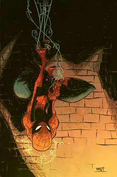 Spider-Man Cover by *skottieyoung on deviantART
