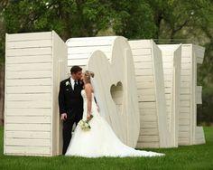 LOVE || Andy Sams Photography via Valley & Co. Weddings