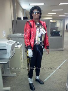 Cool DIY Michael Jackson Costume