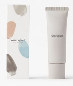 Nendo has used brush strokes in soft, pastel hues for a range of minimal packaging for organic cosmetics company Naturaglacé