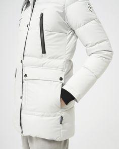 Salome - No fur White Ducks, Duck Down, Winter Jackets Women, Quartz, Fur, Collection, Fashion, Moda, Fashion Styles