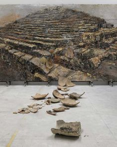 Anselm Kiefer.Shevirath Ha Kelim, 2009. Terracotta, acrylic, oil and shellac on canvas