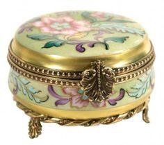 Caixa de jóias Limoges