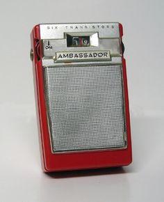 The Transistor radio, what a revolution from the big, clunky portable radios. My Childhood Memories, Sweet Memories, Radios, Nostalgia, Pocket Radio, Antique Radio, Transistor Radio, Record Players, Cassette