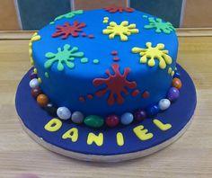 Paint Ball Cake