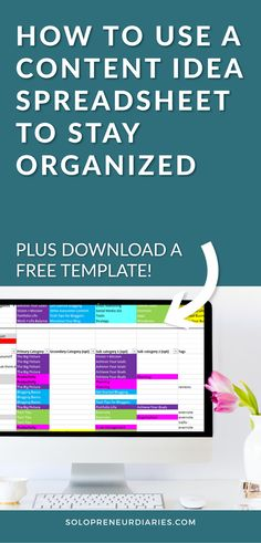 How to set up a content idea spreadsheet, map it to an editorial calendar, and use the spreadsheet to ensure there is variety in your posting schedule. Small Business Organization, Marketing Automation, Content Marketing Strategy, Blog Planner, Social Media Content, As You Like, Apps, Blogging, Guerrilla Marketing