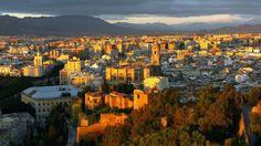 Amanecer en Málaga