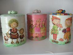 latas decoradas - Pesquisa Google