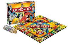 MONOPOLY DC COMICS RETRO *INGLES*