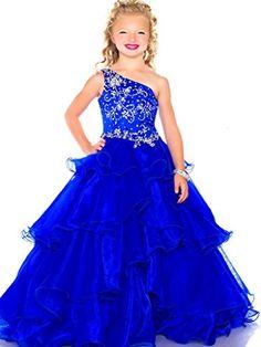 MengLu Little Girls' One Shoulder Crystal Beaded Big Ball Gown Pageant Dresses MengLu http://www.amazon.com/dp/B011KUNWIA/ref=cm_sw_r_pi_dp_myB4wb1WEJAYV