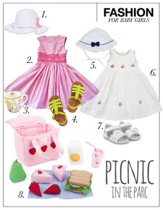 Fashion for baby Girls: Picnic in the parc! Now at Pret a Pregnant