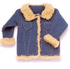 курточка для мальчика крючком / Вязание крючком / Детская одежда крючком. Схемы