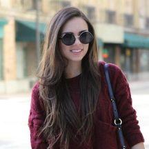 Hot Trend For This Season – Round Sunglasses #sunglasses #hottrend #summer   #round