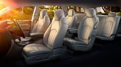 The 2014 Buick Enclave Luxury Crossover SUV has three rows of first-class seating for up to 8 passengers. Best 7 Passenger Suv, 7 Passenger Vehicles, 7 Seater Suv, 2015 Buick, First Class Seats, Luxury Crossovers, Compare Cars, Buick Cars, Best Suv