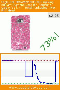 Eagle Cell PDSAMI9100F308 RingBling Brilliant Diamond Case for  Samsung Galaxy S2 i777 - Retail Packaging - Hot Pink Heart (Wireless Phone Accessory). Drop 73%! Current price $2.25, the previous price was $8.30. https://www.adquisitio-usa.com/eagle-cell/pdsami9100f308-ringbling