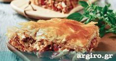 Κρεμμυδόπιτα με ντομάτα και πιπεριές από την Αργυρώ Μπαρμπαρίγου | Φανταστική πίτα με μπόλικα λαχανικά και τέλεια γεύση. Όσοι τη δοκιμάσουν θα ξετρελαθούν!