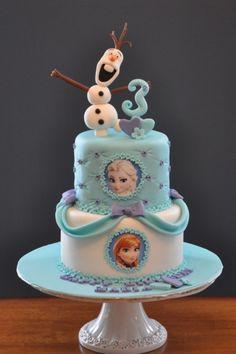 Frozen bday cake