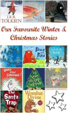 "Favourite Christmas & Winter Books from around the World. Discover classics and quirky ""new"" books. via www.lifeatthezoo.com. by Superduper"