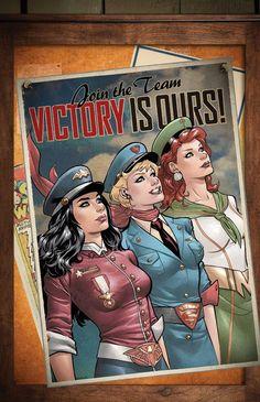 DC Comics lança incríveis capas retrôs de várias personagens! - Legião dos Heróis
